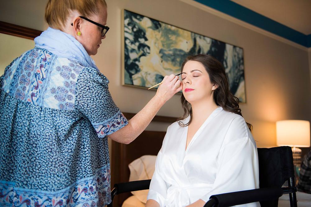 Bridal Makeup - Columbus Jewel Tone Wedding