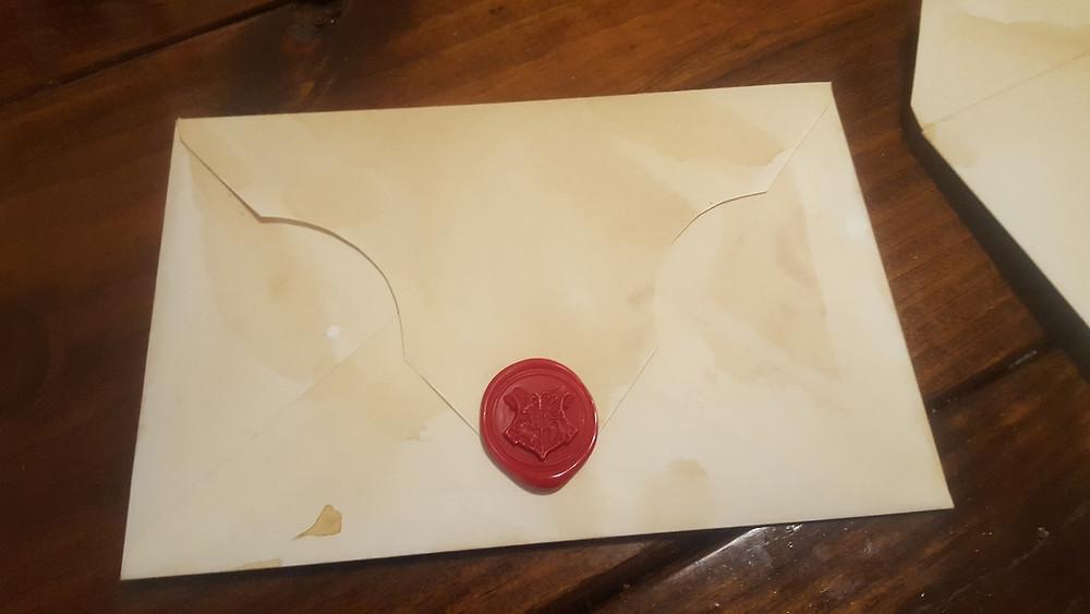 Custom Harry Potter Letter