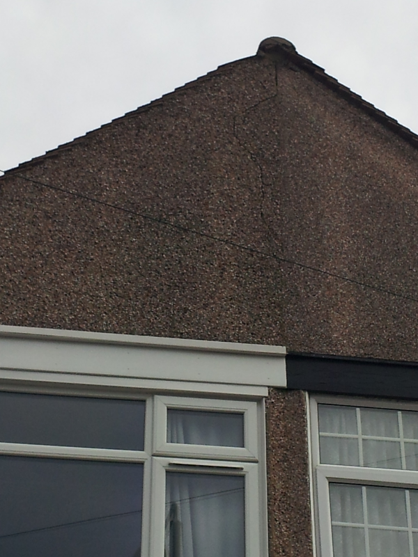 Job Before cladding, fascia replace