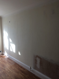 Before wallpaper