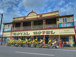 bucks party motorbike tour