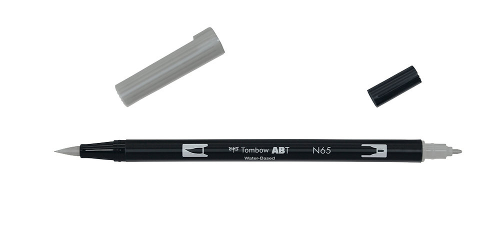 Tombow Dual Brush pens N65 coolgrey5