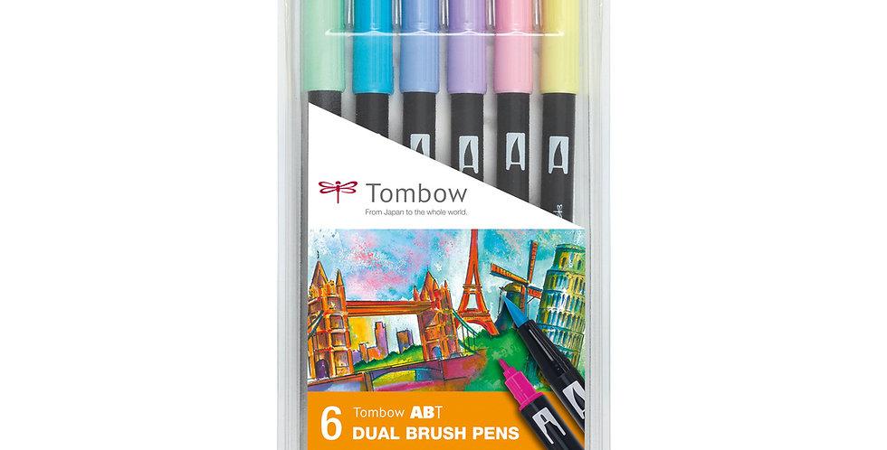 "Tombow ABT Dual Brush pens""Pastel Colours"""
