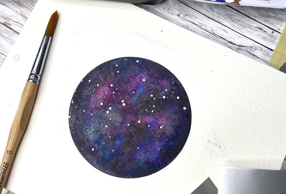 Selbstklebende Schablonenfolie Kreis