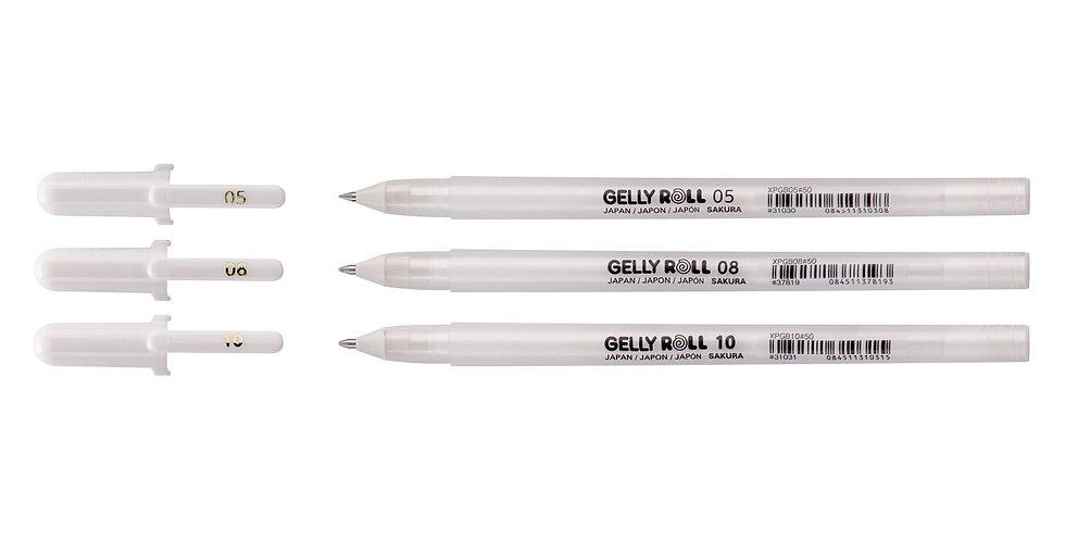 Sakura Gelly Basic White