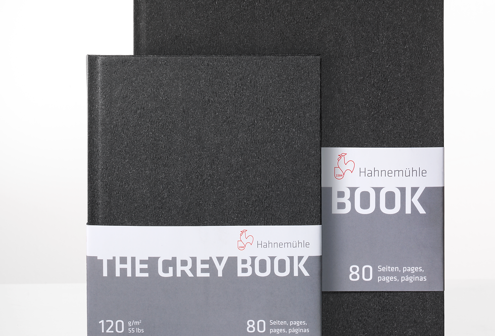 Hahnemühle The grey Book  DIN A5 / DIN A4