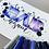 Thumbnail: Selbstklebende Schablonenfolie Kleckse // mittel