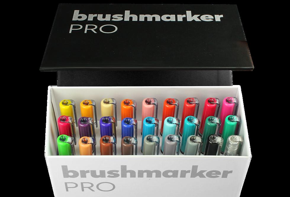 Karin Brushmarker PRO Mini Box mit 26 Farben + Blender