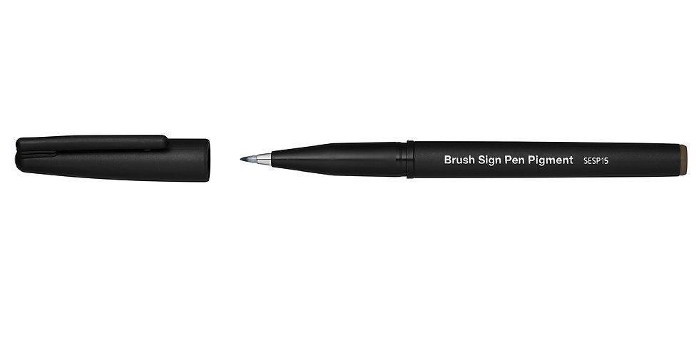Pentel Brush Sign Pen mit pigmentierter Tinte, wasserfest