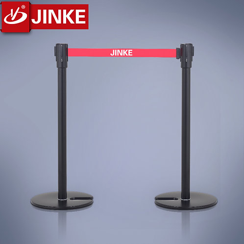 U-shape Overlapped Retractable Stanchion