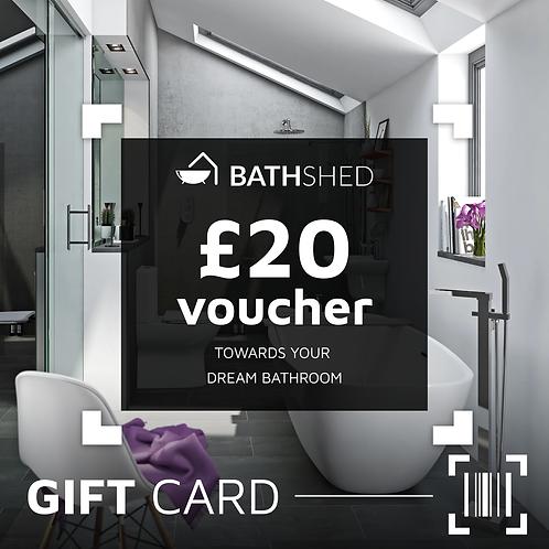 £20 Bathshed Gift Voucher