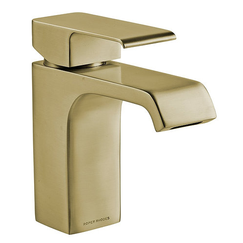 RR Hydra Basin Mixer With Click Waste Brass