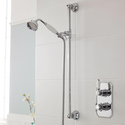Oxford Slide Rail Thermostatic Concealed Shower Kit