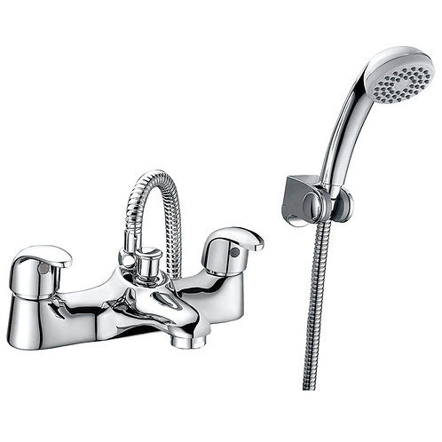 Crystal Bath Shower Mixer and Kit