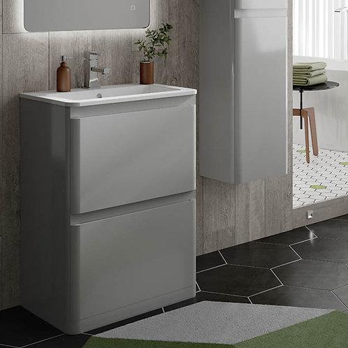 Rivo Freestanding Vanity Unit Grey