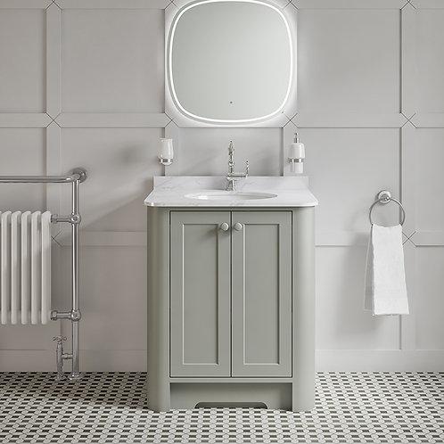 Farnham Grey Freestanding Vanity Unit