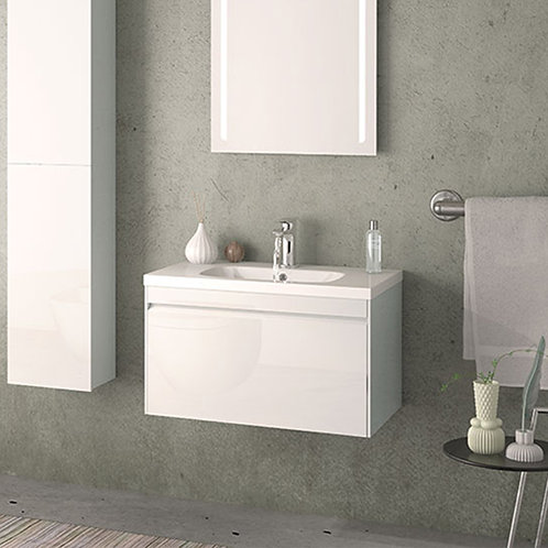 Rhode 700mm Wall Hung Vanity Unit White