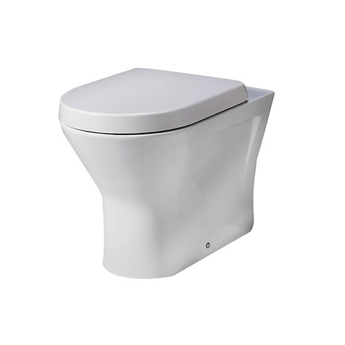 Resort 2 Back To Wall Pan With Slim Soft Close Seat