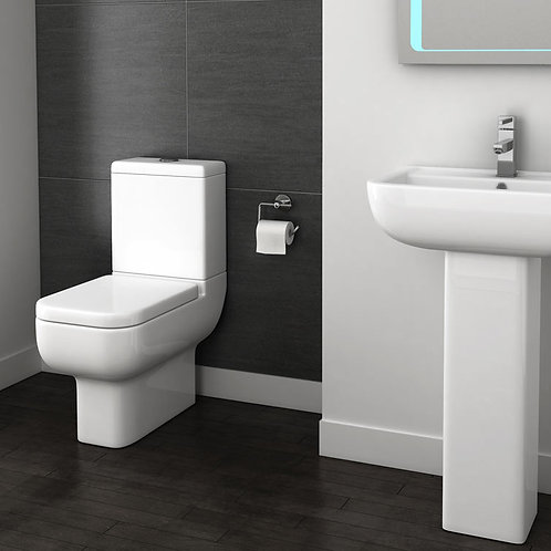 Shelby Close Coupled Toilet Pan
