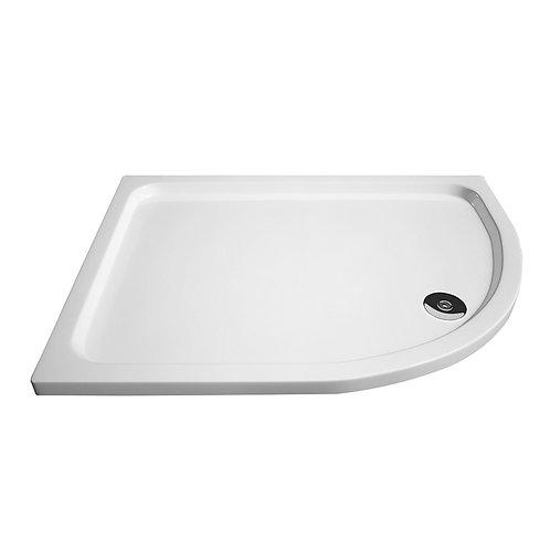 Offset 1200 Slimline Quad Shower Trays