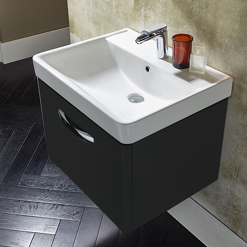 Compass Wall Hung Vanity Unit Clay