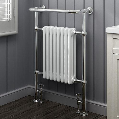 London 965 x 675mm Traditional Heated Towel Rail