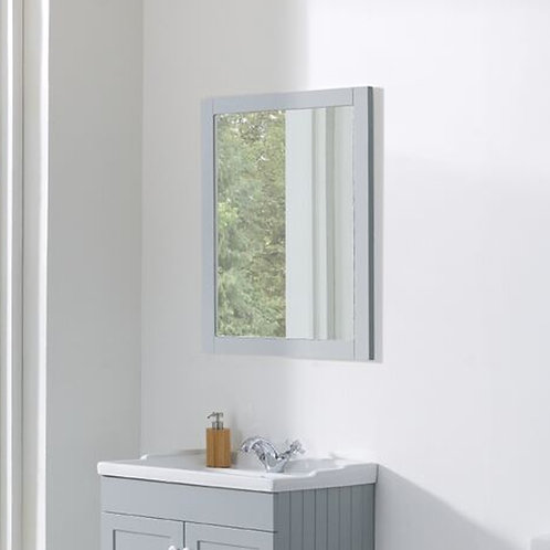 Duke 600mm Framed Mirror Grey