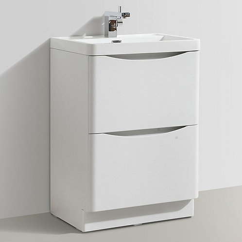 Sorena Floorstanding Vanity Unit White