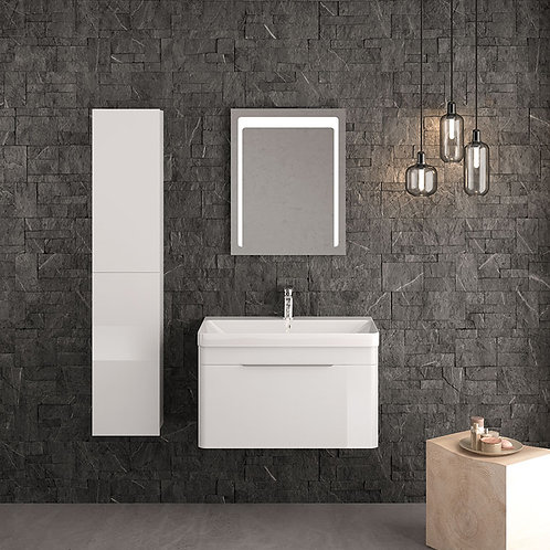Siena Wall Vanity Unit White