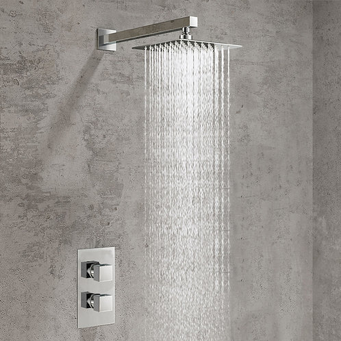 Desio Square Concealed Shower Kit