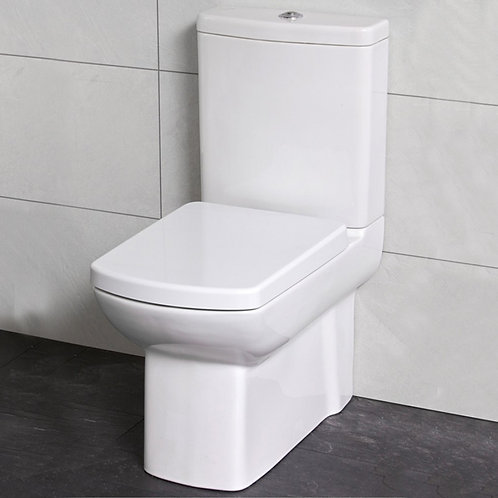 Lara Fully Shrouded Close Coupled Toilet