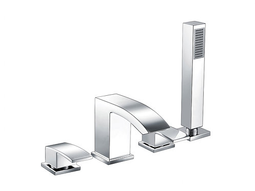 Purity 4 Hole Bath Shower Mixer and Kit
