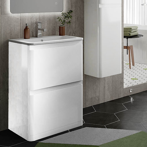 Rivo Freestanding Vanity Unit White