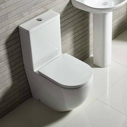 Orbit Close Coupled Toilet & Soft Close Seat