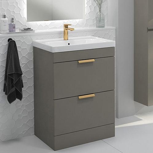 Stockholm Khaki Vanity Unit