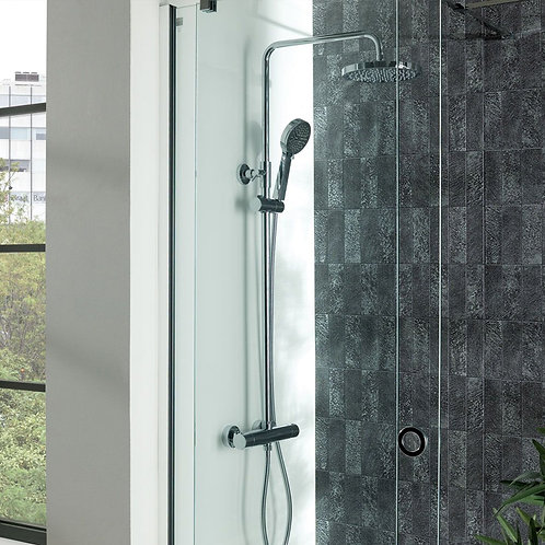 Arc Cool Touch Thermostatic Bar Shower Kit