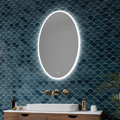 Ali Oval LED Mirror