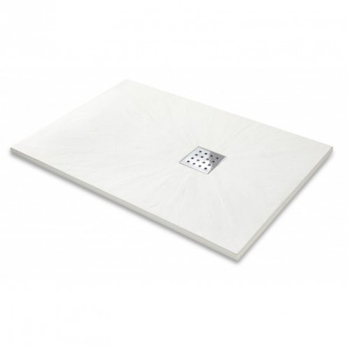 White Rectangular Shower Tray