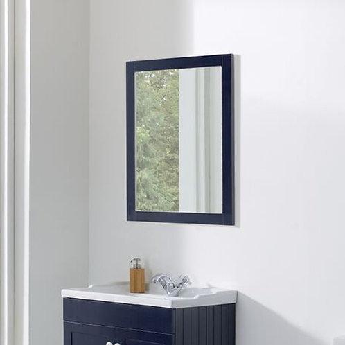 Duke 600mm Framed Mirror Sapphire Blue