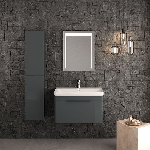 Siena Wall Vanity Unit Anthracite