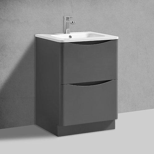 Sofia Grey Freestanding Vanity Unit