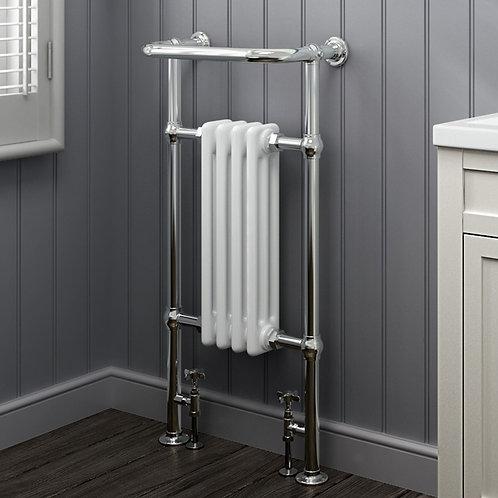 London 965 x 540mm Traditional Heated Towel Rail