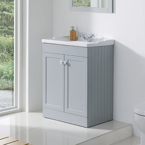 Duke Freestanding Vanity Unit Grey