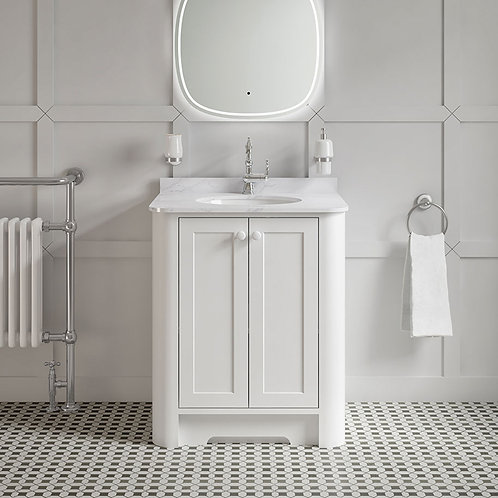 Farnham White Freestanding Vanity Unit