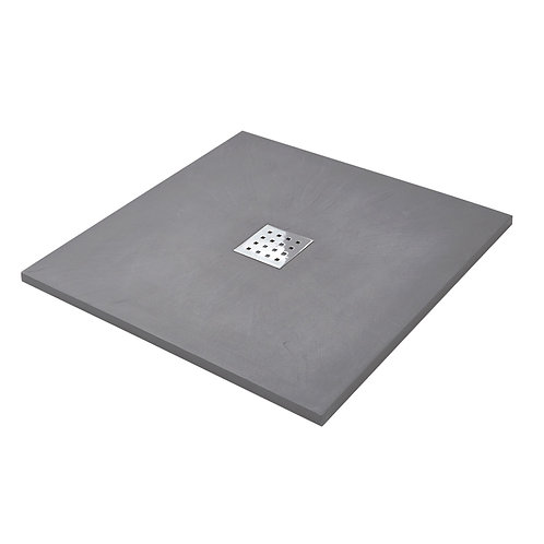 Slate 900x900 Anthracite Shower Tray