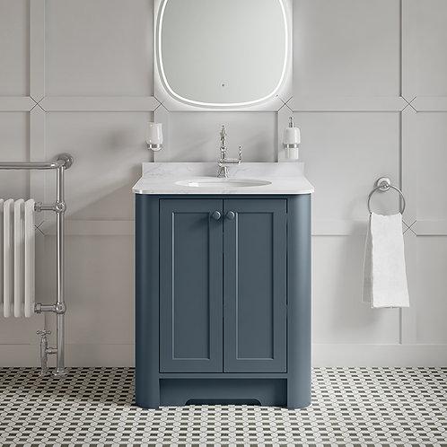Farnham Luxe Blue Freestanding Vanity Unit
