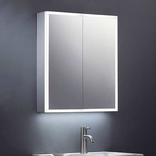 Roma 600mm Illuminated Mirror Cabinet