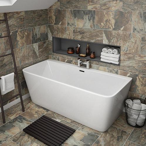 Alannah White 1700mm Freestanding Bath