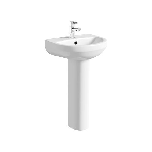 Livari Curve Basin Including Full Pedestal