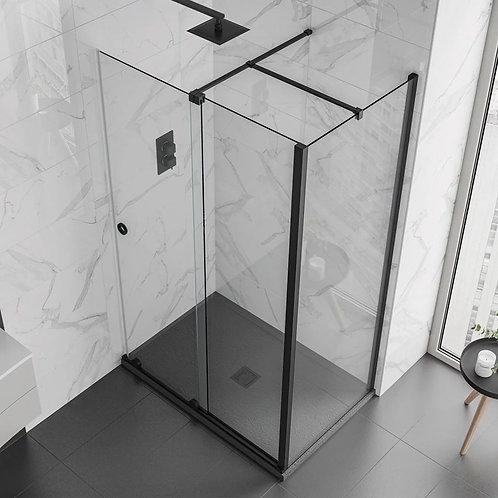 Design 8 Sliding Panel - Matt Black